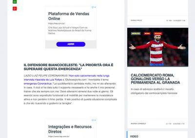 Luiz Felipe - Calcio Mercato - 10/04/2020