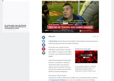Luiz Felipe - ESPN - 14/03/2020