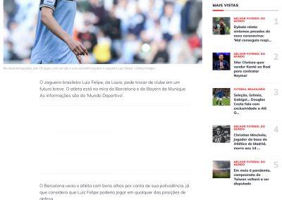 Luiz Felipe - Esporte Interativo - 27/03/2020