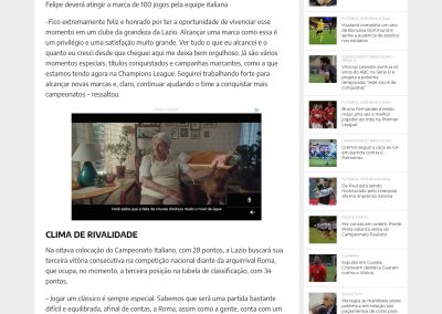 Luiz Felipe - Esporte News Mundo - 14/01/2021