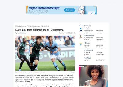 Luiz Felipe - Fichajes Fútbol - 08/05/2020
