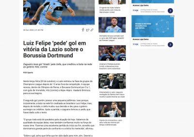 Luiz Felipe - Fox Sports - 20/10/2020