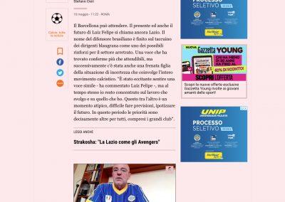 Luiz Felipe - Gazzetta Dello Sport - 10/05/2020