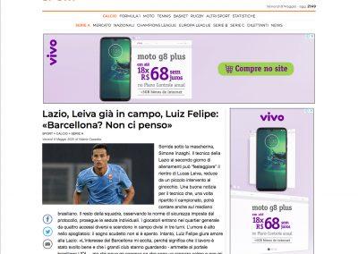 Luiz Felipe - Il Messaggero - 08/05/2020