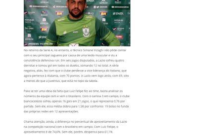 Luiz Felipe - Lance - 16/07/2020