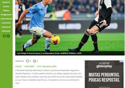 Luiz Felipe - Lance - 18/03/2020