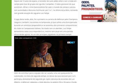 Luiz Felipe - Lance - 21/10/2020