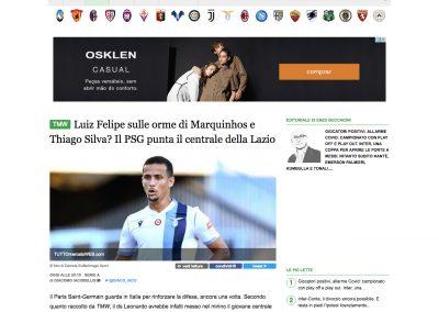 Luiz Felipe - Tutto Mercato - 21/08/2020