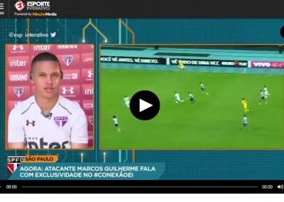 Marcos Guilherme - Esporte Interativo - 06/10/2017