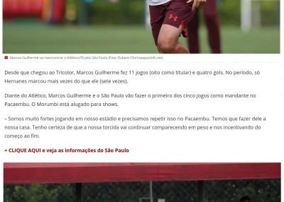 Marcos Guilherme - Globo Esporte - 14/10/2017