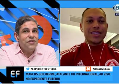 Marcos Guilherme - Expediente Futebol - 24/08/2020