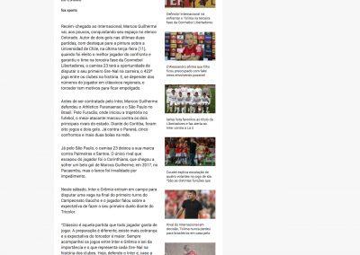 Marcos Guilherme - Fox Sports - 14/02/2020