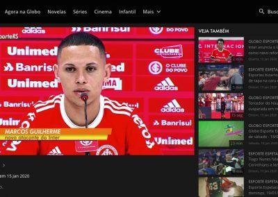 Marcos Guilherme - Globo Esporte - 15/01/2020