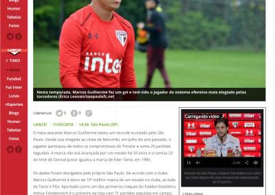Marcos Guilherme - Lancenet! - 11/02/2018