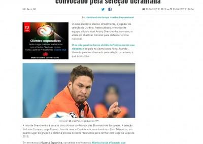 Marlos - GazetaEsportiva.com - 30/09/2017