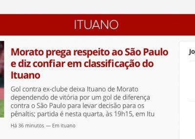 Morato - Destaque GloboEsporte.com - 26/03/2019