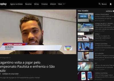 Morato - Jornal Vanguarda - 23/07/2020