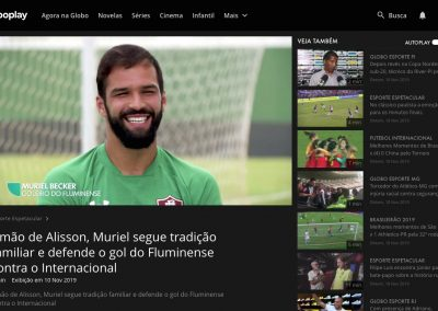Muriel - Esporte Espetacular - 10/11/2019
