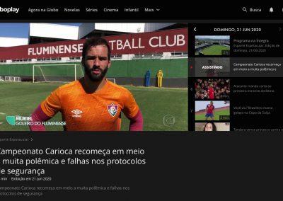 Muriel - Esporte Espetacular - 21/06/2020