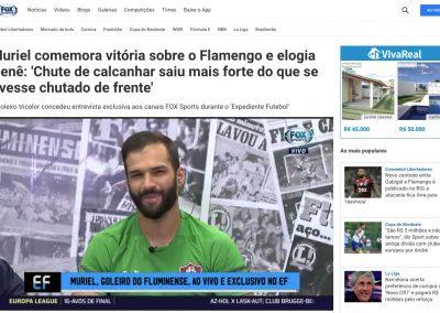 Muriel - Fox Sports - 30/01/2020