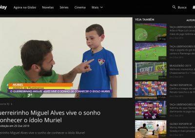 Muriel - Globo Esporte - 25/10/2019