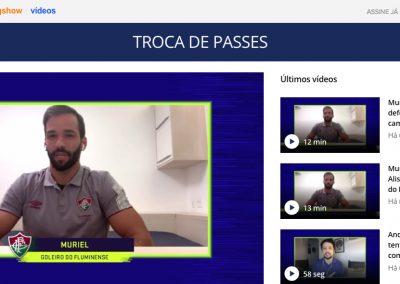 Muriel - Troca de Passes - 09/07/2020