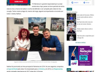Nathan - Gazeta Esportiva - 11/07/2019