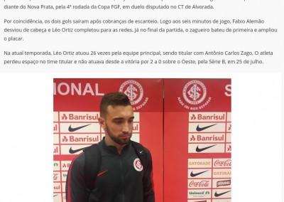 Léo Ortiz - Globo Esporte.com - 01/09/2017