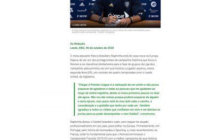 Raphinha - Diário da Bola - 06/10/2020