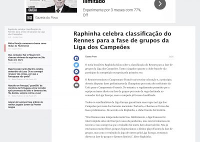 Raphinha - ESPN - 13/08/2020