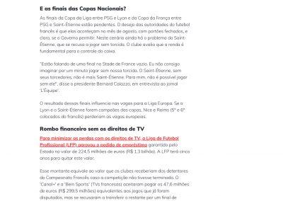 Raphinha - Esporte Interativo - 15/05/2020
