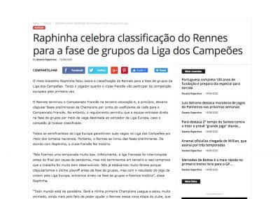 Raphinha - Esportenet - 13/08/2020