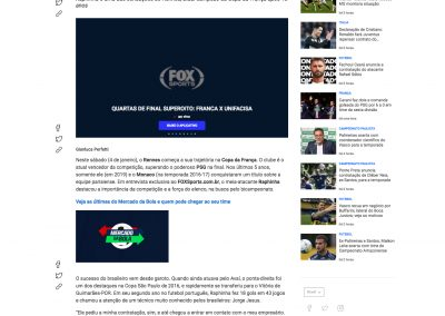 Raphinha - Fox Sports - 04/01/2020