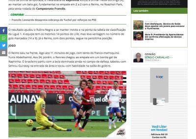 Raphinha - Futebol Interior - 04/10/2020