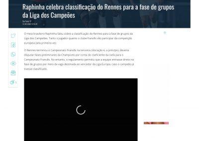 Raphinha - Gazeta - 13/08/2020