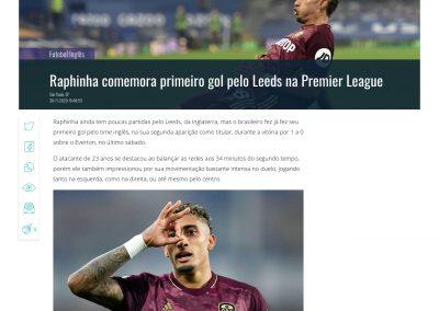 Raphinha - Gazeta Esportiva - 30/11/2020
