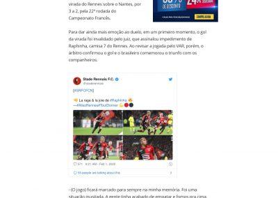 Raphinha - Globoesporte.com - 01/02/2020