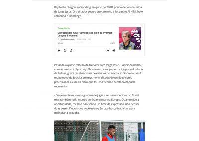 Raphinha - Globoesporte.com - 13/09/2019