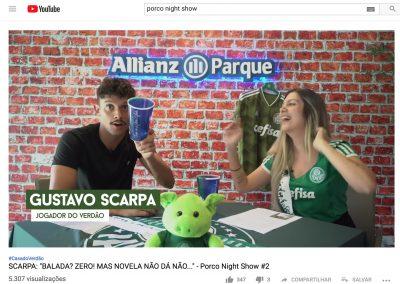 Gustavo Scarpa - Allianz TV - Dezembro/2018