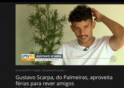 Gustavo Scarpa - Globo Esporte - 24/12/2018