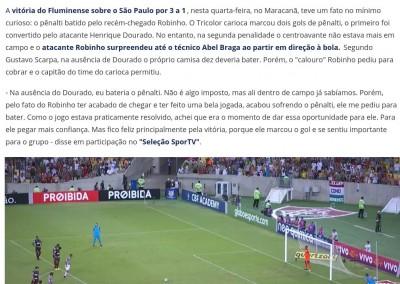 Gustavo Scarpa - Seleção Sportv - 19/10/2017