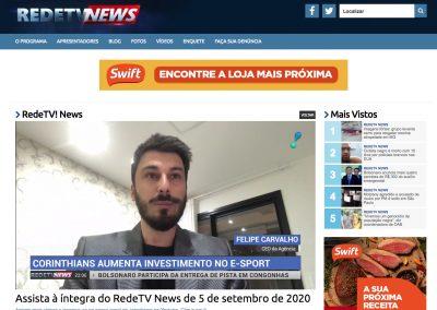 TTB - RedeTV News - 05/09/2020