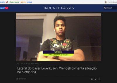 Wendell - Troca de Passes - 11/04/2020