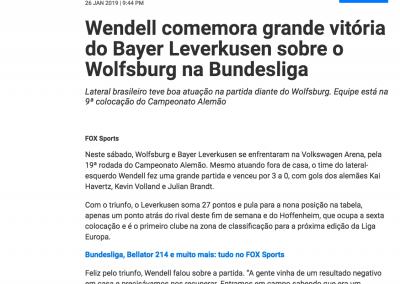 Wendell - FOX - 26/01/2019