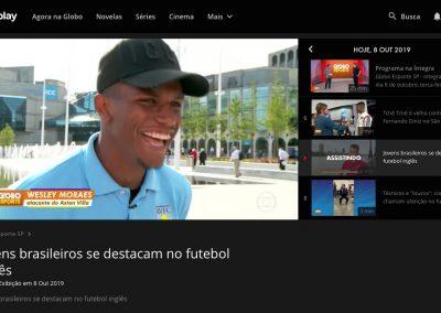Wesley - Globo Esporte - 08/10/2019
