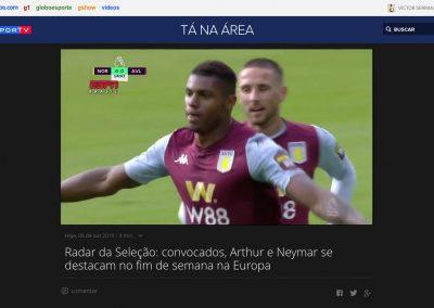 Wesley - Radar da Seleção - 08/10/2019