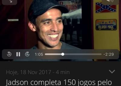 Jadson - Globo Esporte - 17/11/2017