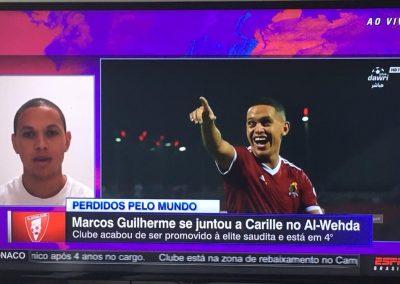 Marcos Guilherme - Futebol no Mundo - 11/10/2018