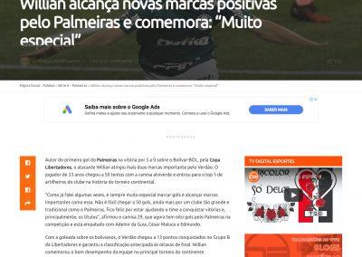 Willian - Digital Esportes - 01/10/2020