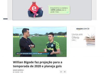 Willian - Esporte Fantástico - 11/02/2020